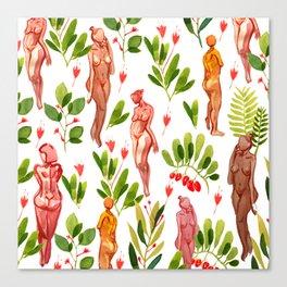 naked plants Canvas Print