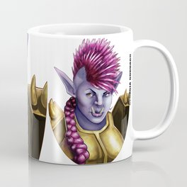 Raknida the Orcish Warrior Coffee Mug