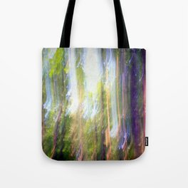 Sun shower in the Fairy Forest Tote Bag