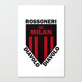 Ac Milan Canvas Prints For Any Decor Style Society6