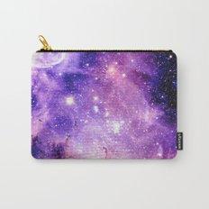 Galaxy Nebula Purple Pink : Carina Nebula Carry-All Pouch