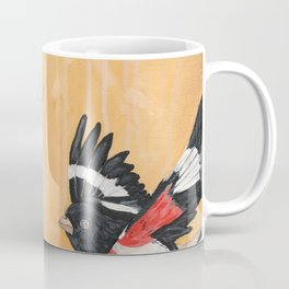 Rest Flowering Quince Rose-breasted Grosbeak Coffee Mug