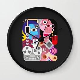 Cubism Deejay - Music Wall Clock