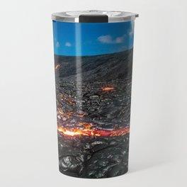 Lava field Travel Mug