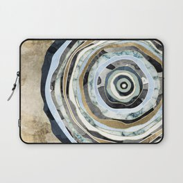 Wood Slice Abstract Laptop Sleeve