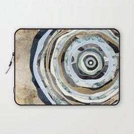 Wood Slice Abstract Laptop Sleeve