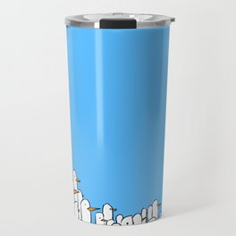 Flock of Seabirds Travel Mug