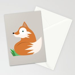 Pryscilla the Fox Stationery Cards