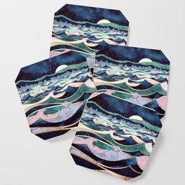 Moonlit Ocean Coaster