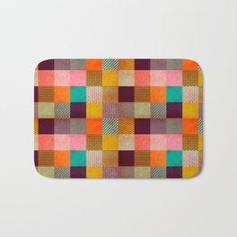 Decorated Pixel   Bath Mat