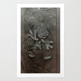 Mickey in Carbonite Art Print