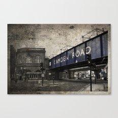 Camden Road Train Station Canvas Print