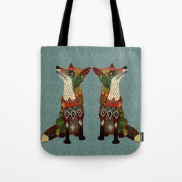 fox love Tote Bag