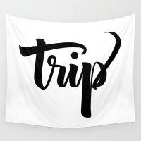 trip Wall Tapestries featuring Trip! by Shreyas