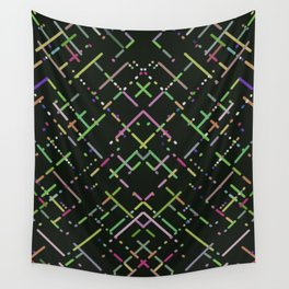 Super Lines Wall Tapestry