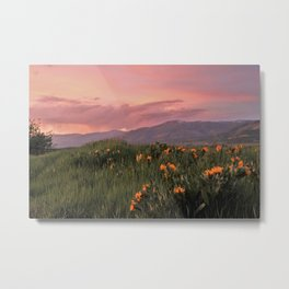 Painted Landscape Metal Print