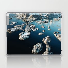 norway aerial view Laptop & iPad Skin