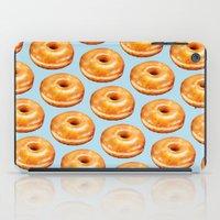 doughnut iPad Cases featuring Glazed Doughnut Pattern by Kelly Gilleran