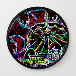 Fair After Dark (tilt a whirl) Wall Clock