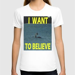 I want to believe Champ T-shirt