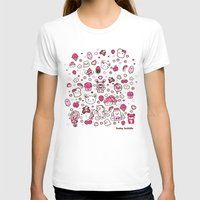 kawaii T-shirts featuring Kawaii Friends by Gina Mayes