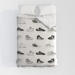 Sneakers White Comforters