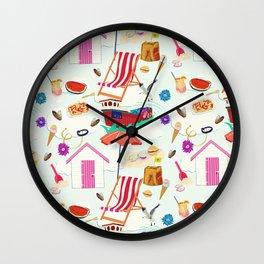 Seaside Extravaganza Wall Clock