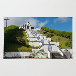 Chapel in Azores islands Rug