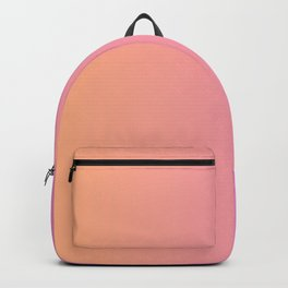 pink and orange gradient Backpack