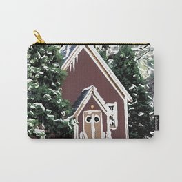 View of Yosemite Valley Chapel Carry-All Pouch