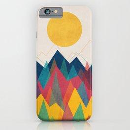 Uphill Battle iPhone Case