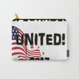 DEPLORABLES UNITED 2017 T-Shirt Carry-All Pouch