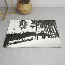 The last ride Rug