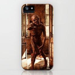 Zombie At The Door iPhone Case