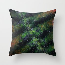"""NLK-1611 """"The Spinal Nebula"""" Throw Pillow"""