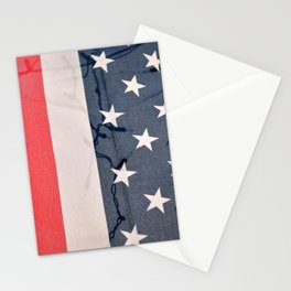 Flag Lights Stationery Cards
