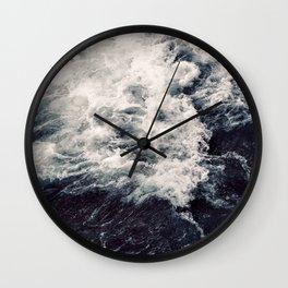Rush of Waves Wall Clock