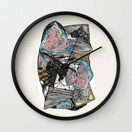 Cosmic geology Wall Clock
