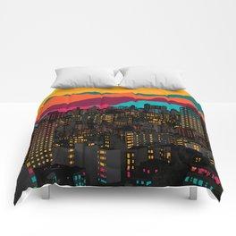 Fragmented III VI Comforters