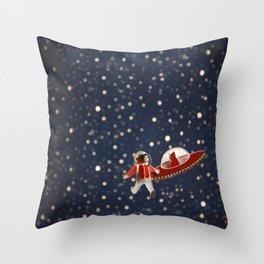 Red riding hood Throw Pillow