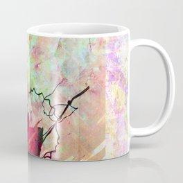 Pastel Autumn Leaves Coffee Mug