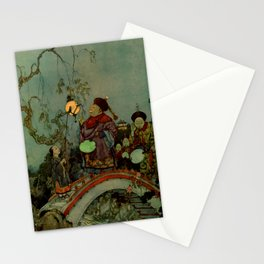 """""""In Search of a Nightingale"""" by Edmund Dulac Stationery Cards"""