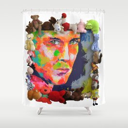 Jeremy Scott Shower Curtain