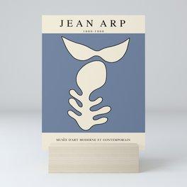 Modern poster - Jean Hans Arp - Exposition 4. Mini Art Print
