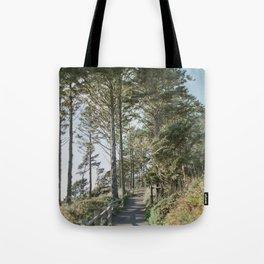 Oregon Coast Path / Fine Art Film Photography Tote Bag