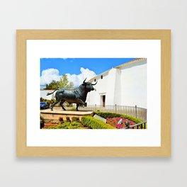 Bulls Framed Art Print