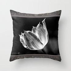 Virichic in Black and White Throw Pillow