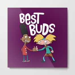 Best Buds Metal Print