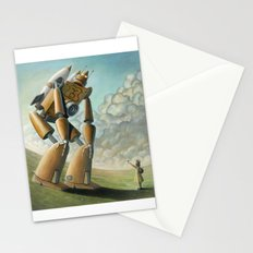 Robot Dilemma Stationery Cards