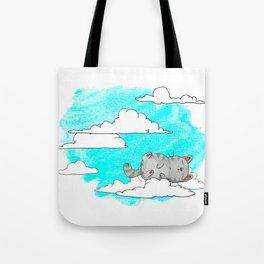Sky Cat Tote Bag